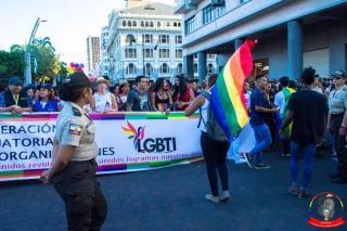 Orgullo guayaquil Gay pride Ecuador 2018 - Asociación silueta x - Federacion LGBT60