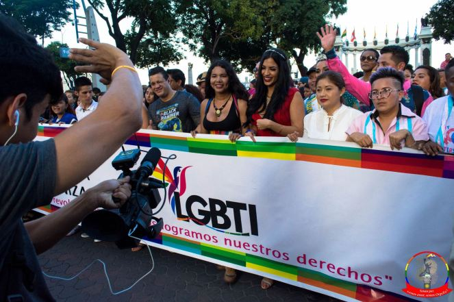 Orgullo guayaquil Gay pride Ecuador 2018 - Asociación silueta x - Federacion LGBT63