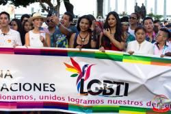 Orgullo guayaquil Gay pride Ecuador 2018 - Asociación silueta x - Federacion LGBT66