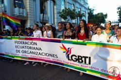 Orgullo guayaquil Gay pride Ecuador 2018 - Asociación silueta x - Federacion LGBT70