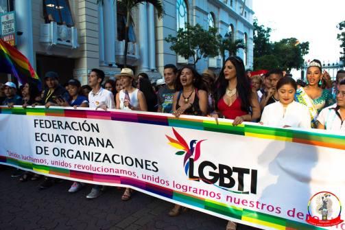 Orgullo guayaquil Gay pride Ecuador 2018 - Asociación silueta x - Federacion LGBT71