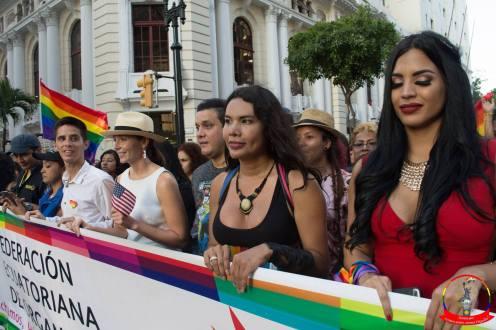 Orgullo guayaquil Gay pride Ecuador 2018 - Asociación silueta x - Federacion LGBT73