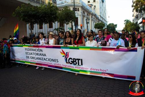 Orgullo guayaquil Gay pride Ecuador 2018 - Asociación silueta x - Federacion LGBT74