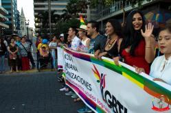 Orgullo guayaquil Gay pride Ecuador 2018 - Asociación silueta x - Federacion LGBT75