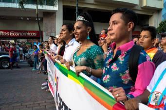Orgullo guayaquil Gay pride Ecuador 2018 - Asociación silueta x - Federacion LGBT85