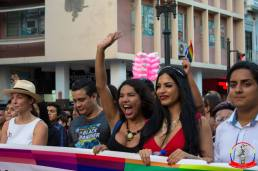 Orgullo guayaquil Gay pride Ecuador 2018 - Asociación silueta x - Federacion LGBT88