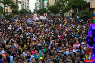 Orgullo guayaquil Gay pride Ecuador 2018 - Asociación silueta x - Federacion LGBT91