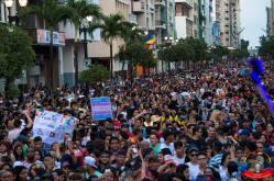 Orgullo guayaquil Gay pride Ecuador 2018 - Asociación silueta x - Federacion LGBT93
