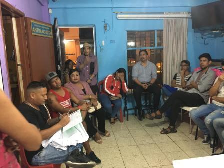 Reunión preparatoria del Orgullo Guayaquil pride gay guayaquil ecuador 2018 (4)