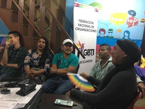 Reunión preparatoria del Orgullo Guayaquil pride gay guayaquil ecuador 2018 (8)