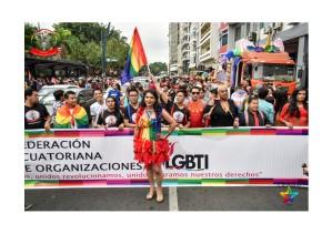Orgullo Guayaquil - Orgullo gay LGBT 2019 Activista Diane Rodríguez