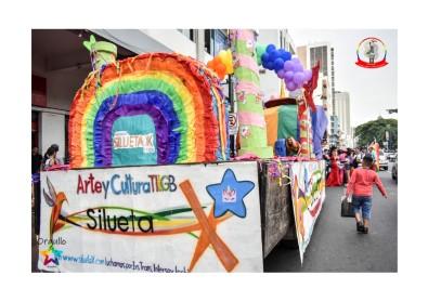 Orgullo Guayaquil - Orgullo gay LGBT 2019 - Carroza de Silueta X