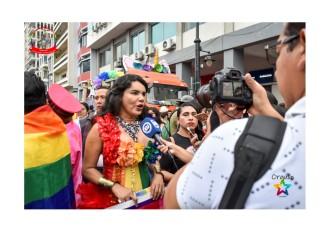 Orgullo Guayaquil - Orgullo gay LGBT 2019 - Diane Rodriguez entrevistada