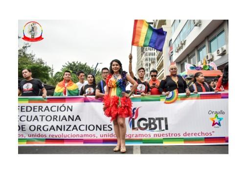Orgullo Guayaquil - Orgullo gay LGBT 2019 - Diane Rodriguez y la Federación Ecuatoriana de ong