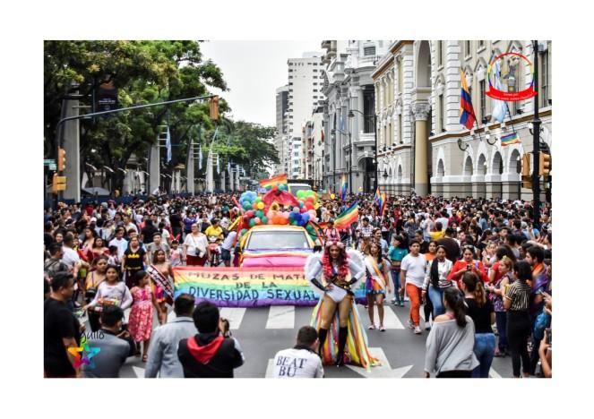 Orgullo Guayaquil - Orgullo gay LGBT 2019 - Espectacular Guayaquil colorido