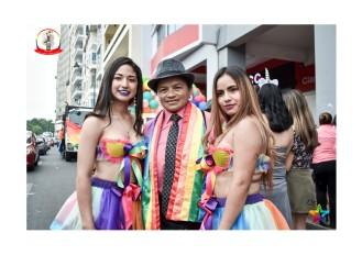 Orgullo Guayaquil - Orgullo gay LGBT 2019 integrantes de Musas de Matiz
