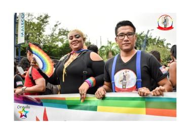 Orgullo Guayaquil - Orgullo gay LGBT 2019 - Jefferson integrante de Silueta X