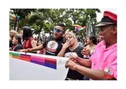 Orgullo Guayaquil - Orgullo gay LGBT 2019 - Miembros de la Asociación Silueta X