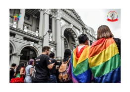 Orgullo Guayaquil - Orgullo gay LGBT 2019 - miembros de Silueta X