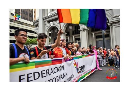 Orgullo Guayaquil - Orgullo gay LGBT 2019 Silueta X miembros de la Federación