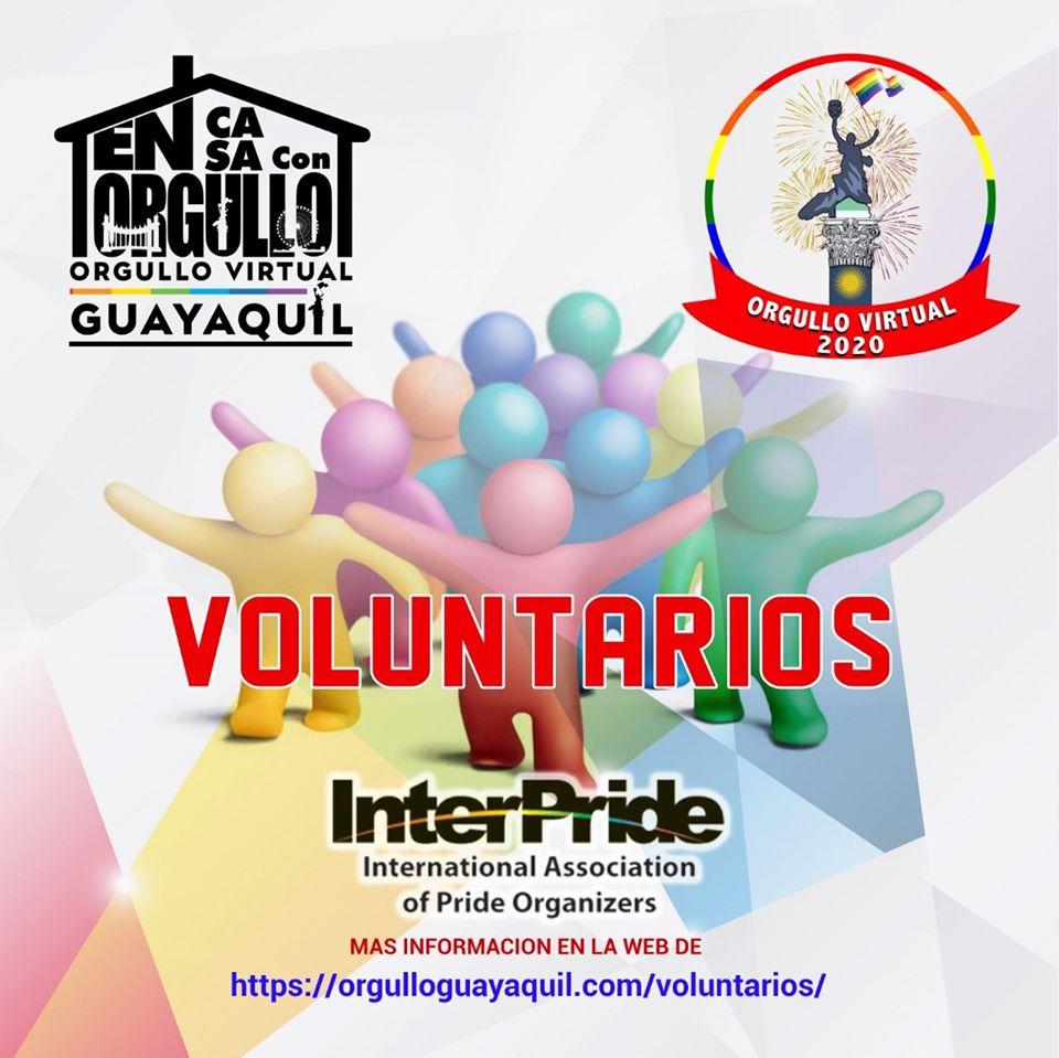 Orgullo Virtual Guayaquil 2020 - Disfruta del primer Orgullo Virtual en Guayaquil desde casa - En Casa con orgullo Junio 28